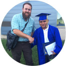 School District's First Migrant Student is also Family's First High School Graduate